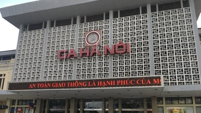 Bộ GTVT chính thức có ý kiến về Đồ án Quy hoạch ga Hà Nội - Ảnh: Q.V