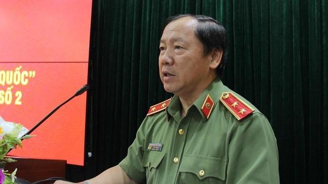Cục trưởng Cục An ninh mạng, Bộ Công an Hoàng Phước Thuận. Ảnh: BCA.