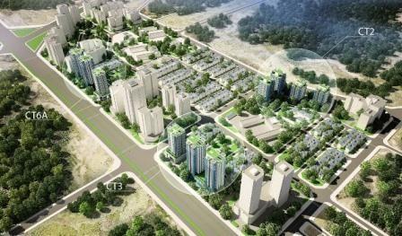 Điều chỉnh 05 ô đất Khu đô thị mới Tây Nam Kim Giang I - Ảnh: Hà Nội mới.