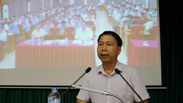 Ông Nguyễn Hồng Lâm - Ảnh: Cổng thông tin điện tử huyện Quốc Oai.