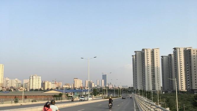 Tuyến đường Lê Đức Thọ đến KĐTM Xuân Phương đã hoàn thành vào năm 2017 - Ảnh: Q.V
