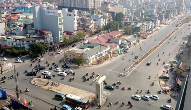 Tổng mức đầu tư đoạn đường Hoàng Cầu - Voi Phục 7.779 tỷ đồng - Ảnh: Kinh tế đô thị.