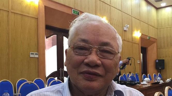 TS. Phạm Sỹ Liêm, Phó Chủ tịch Tổng Hội Xây dựng Việt Nam, nguyên Thứ trưởng Bộ Xây dựng