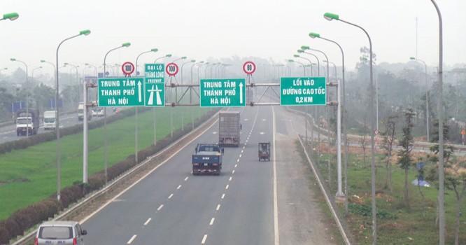 Nút giao giữa Vành đai 3,5 với Đại lộ Thăng Long thuộc địa phận quận Nam Từ Liêm, huyện Hoài Đức. Ảnh minh họa: Hanoi.gov.vn