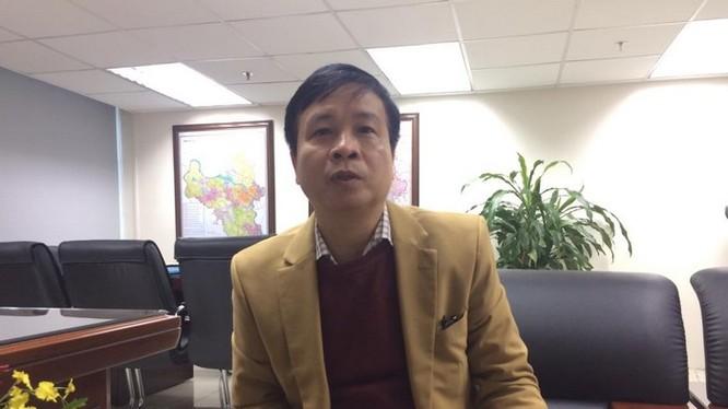 Ông Nguyễn Hoàng Hải, Giám đốc Trung tâm Quản lý và điều hành giao thông đô thị Hà Nội.