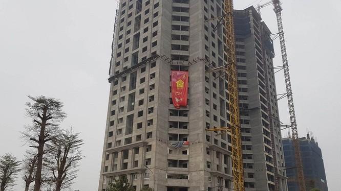 Dự án Tòa nhà hỗn hợp thương mại và nhà ở chung cư TECCO đang triển khai - Ảnh Teccohanoi.com