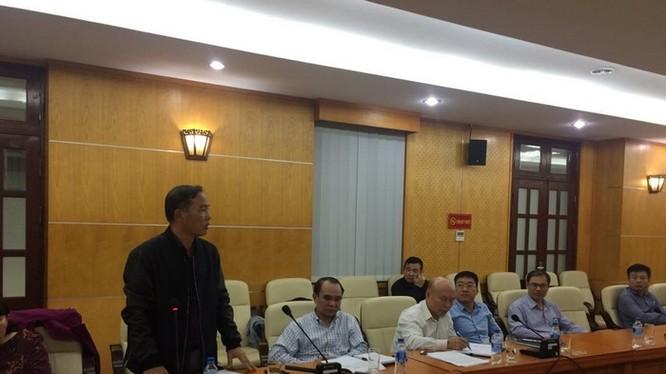 Ông Lê Nam Trà nguyên Chủ tịch HĐTV Mobifone.