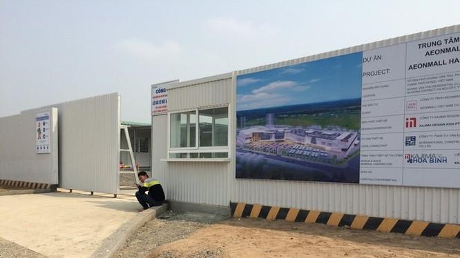 Tập đoàn AEON (Nhật Bản) vừa động thổ dự án Trung tâm thương mại tại Hà Đông.