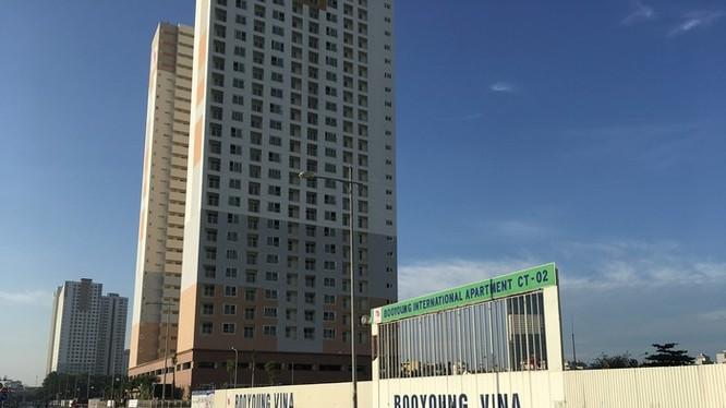 Khu chung cư quốc tế Booyoung thuộc Khu đô thị Mỗ Lao là vị trí đắc địa của quận Hà Đông.