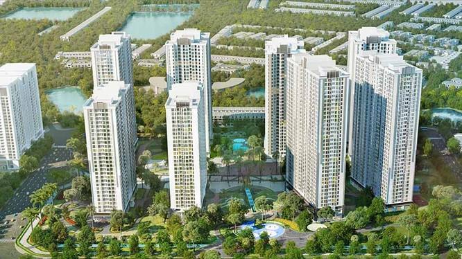 Khu đô thị mới Tây Mỗ - Đại Mỗ của Vingroup được điều chỉnh theo hướng tăng dân số.