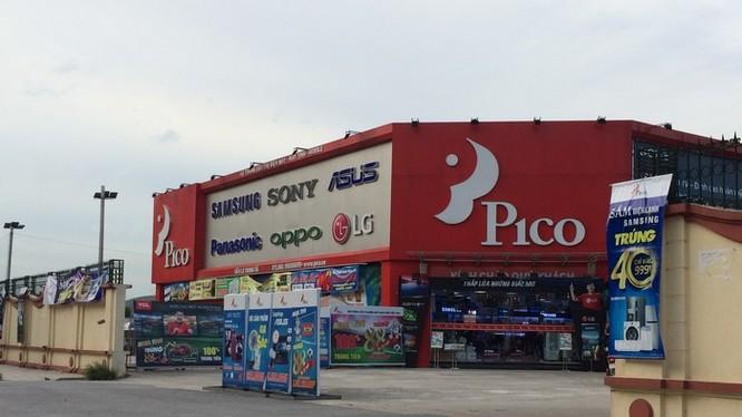 Siêu thị điện máy Pico nằm trong khuôn viên sân bay Bạch Mai.