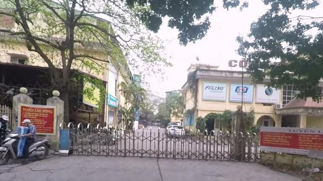 Công ty CP Cao su Hà Nội tại khu đất số 59, tổ 4, phường Cầu Diễn, quận Nam Từ Liêm.
