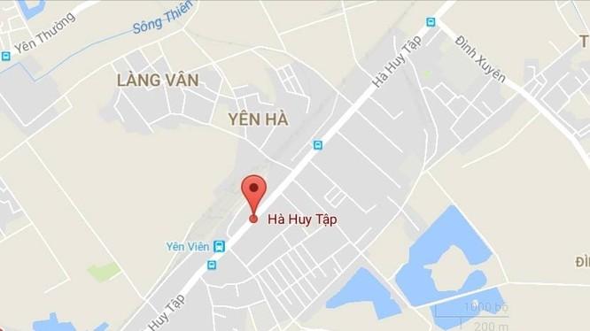 Tuyến đường có điểm đầu tại vị trí giao với đường Hà Huy Tập, điểm cuối hết địa phận huyện Gia Lâm.