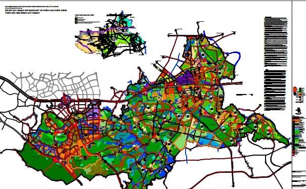 Quy hoạch chung huyện Quốc Oai đến năm 2030.