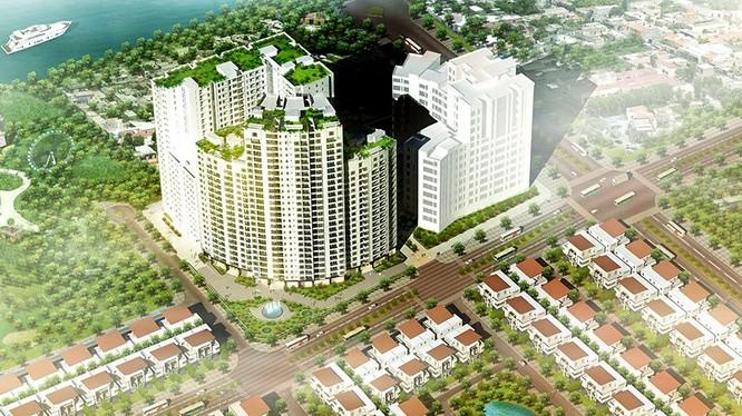 Dự án Nam Đàn Plaza có vị trí đắc địa, nằm ngay mặt đường Phạm Hùng.