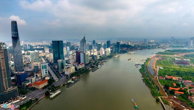 Một lần nữa HoREA lại kiến nghị triển khai dự án Đại lộ ven sông Sài Gòn của Tập đoàn Tuần Châu/ Ảnh: zing.vn