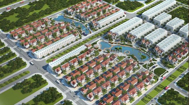 Phối cảnh Khu đô thị An Hưng, quy mô gần 30ha.