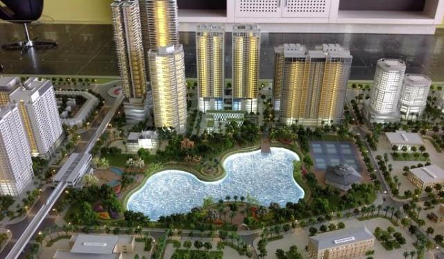Khu đô thị Vibex có tổng diện tích gần 50ha tại quận Bắc Từ Liêm/ Ảnh: Vibex.vn