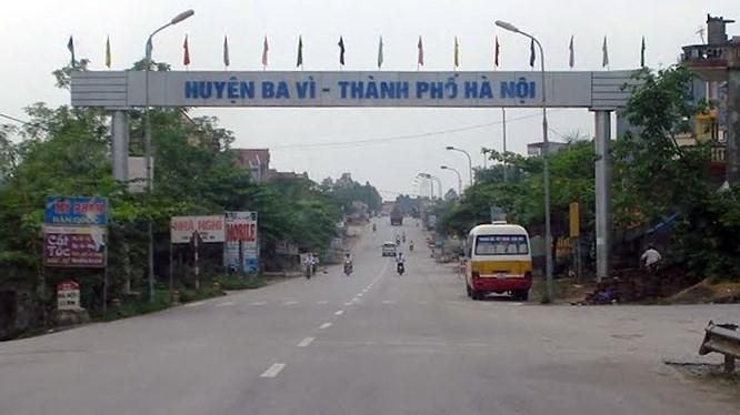 Huyện Ba vì sẽ có tuyến đường mới chạy qua thị trấn Tây Đằng - Ảnh minh họa/Báo Đấu thầu.