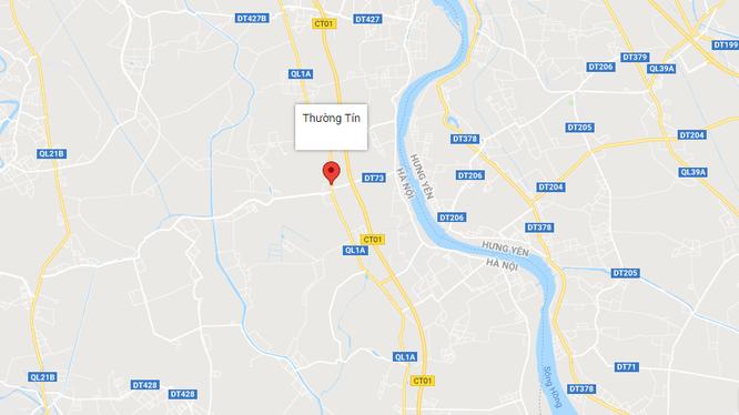 UBND TP Hà Nội vừa phê duyệt chỉ giới đường đỏ tỷ lệ 1/500, tuyến đường tỉnh 427, đoạn từ QL21B đến nút giao Khê Hồi (đường cao tốc Pháp Vân - Cầu Giẽ)