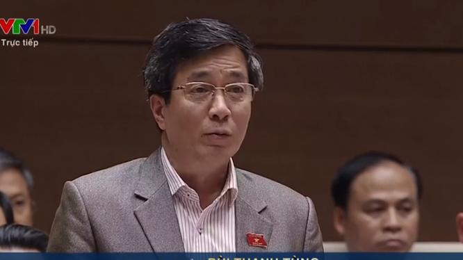 Ông Bùi Thanh Tùng - Phó trưởng đoàn đại biểu Quốc hội TP Hải Phòng.