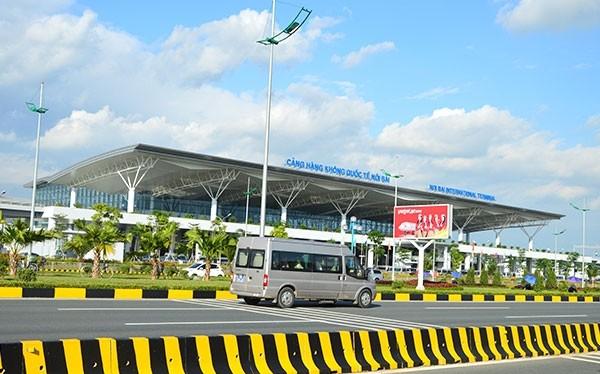 Sân bay quốc tế Nội Bài - Ảnh: Báo Giao thông