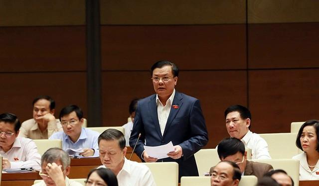 Bộ trưởng Bộ Tài chính Đinh Tiến Dũng/ Ảnh: Dân trí
