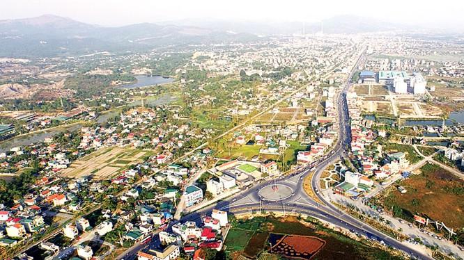 Thành phố Uông Bí/Ảnh: baoquangninh.com.vn