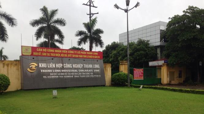 Công ty thép Thành Long, Chủ đầu tư Dư án Khu dịch vụ thương mại và nhà ở cho công nhân thuê/ Ảnh: hungyentv.vn