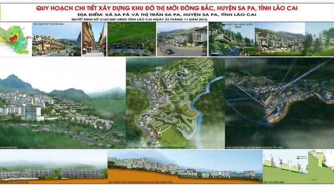 Khu đô thị mới Đông Bắc Sa Pa có quy mô nghiên cứu khoảng 160ha.