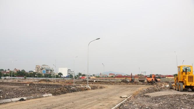 Dự án đầu tư xây dựng kinh doanh hạ tầng khu dân cư đô thị Yên Thanh/ Ảnh: baoquangninh.com.vn