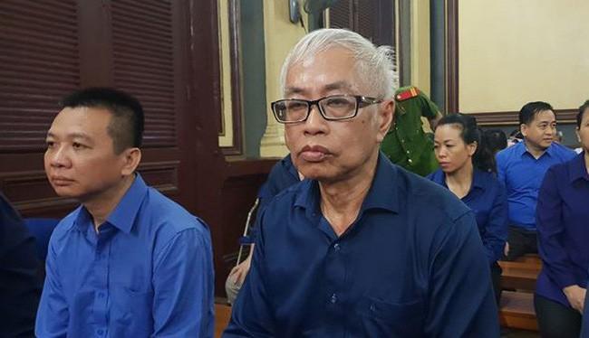 Bị cáo Trần Phương Bình tại phiên tòa.