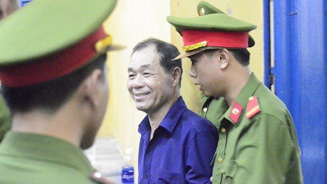 Ông Trầm Bê vừa bị khởi tố, bắt giam trong lúc đang thụ án 4 năm tù. Ảnh: Tân Châu