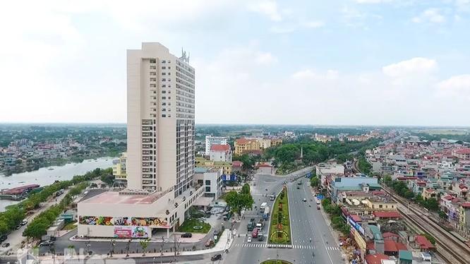 Thành phố Phủ Lý được công nhận là đô thị loại II/ Ảnh: baohanam.com.vn