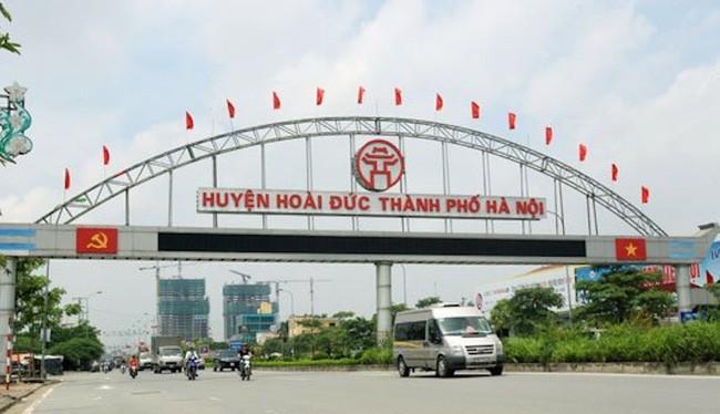 Quy hoạch Trung tâm thị trấn Trạm Trôi theo hướng huyện Hoài Đức thành quận.