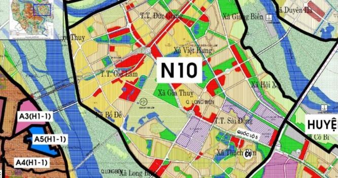 Việc lập Quy hoạch chi tiết tỷ lệ 1/500 Khu chức năng đô thị tại phường Đức Giang và phường Thượng Thanh, quận Long Biên nhằm cụ thể hóa đồ án Quy hoạch phân khu đô thị N10, tỷ lệ 1/2.000.