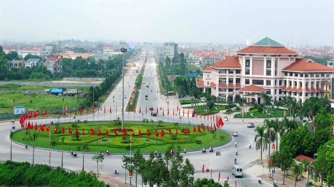 Quy mô diện tích khu vực phát triển đô thị Thứa, huyện Lương Tài khoảng 360 ha/ Ảnh: bacninh.gov.vn