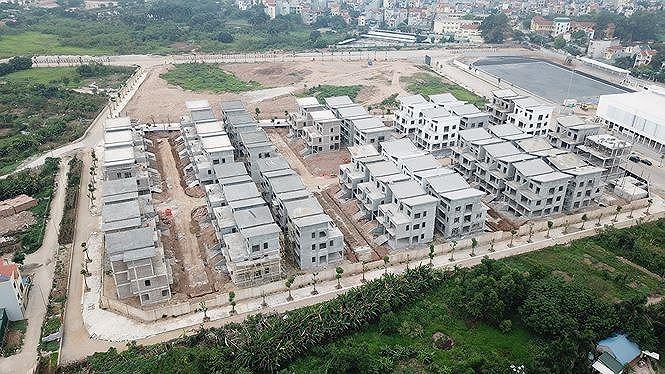 Toàn cảnh dự án KĐT Khai Sơn City/ Ảnh: Tienphong.vn