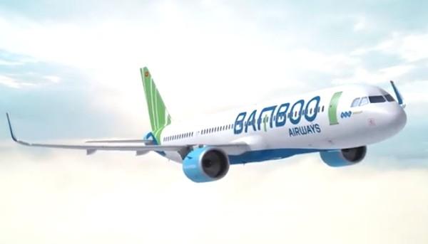 Bamboo Airways tiếp tục thuê thêm 01 tàu bay Airbus. (Ảnh: FLC)