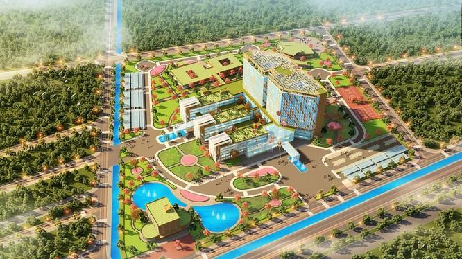 Dự án có tổng vốn đầu tư là 3.700 tỷ đồng/ Ảnh: flc.vn