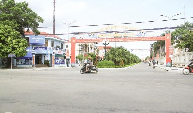 Hiện trạng diện trạng diện tích tự nhiên huyện Nga Sơn, tỉnh Thanh Hóa khoảng 157,82km2/ Ảnh: baothanhhoa.vn