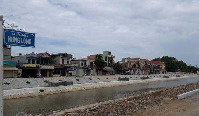 Dự án kiên cố hóa kênh Hưng Long, Nga Sơn, Thanh Hóa được đầu tư theo hình thức hợp đồng BT/ Ảnh: Dân trí