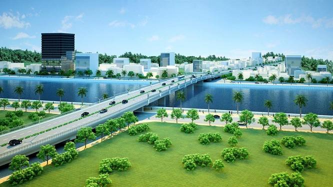 Cienco4 được chọn là nhà đầu tư cho dự án xây dựng Cầu Hiếu 2 và đường hai đầu cầu, thị xã Thái Hòa theo hình thức hợp đồng BT/ Ảnh: cienco4.vn
