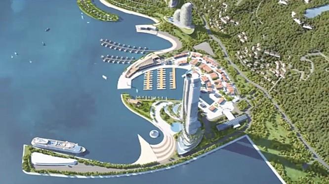 Tổ hợp khách sạn nghỉ dưỡng cao cấp Vân Cảng là phân khu 8 thuộc Dự án Con đường di sản Vân Đồn, do Công ty CP Vân Đồn Heritage Road thực hiện.