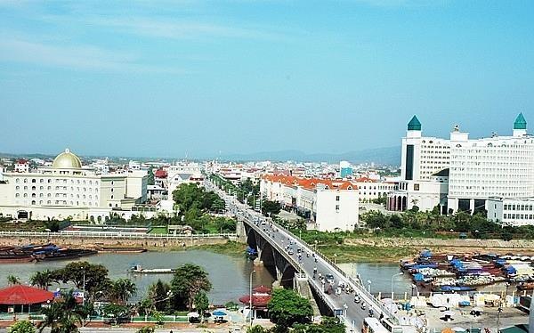 Một góc TP Móng Cái, tỉnh Quảng Ninh.