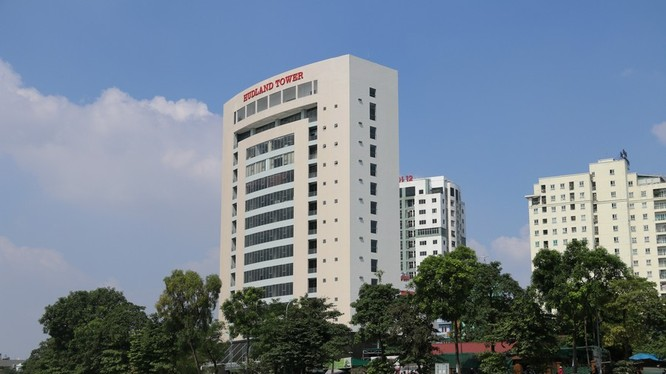 HUDLAND Tower - trụ sở của Cty CP Đầu tư và Phát triển BĐS HUDLAND/ Ảnh: baoxaydung.com.vn