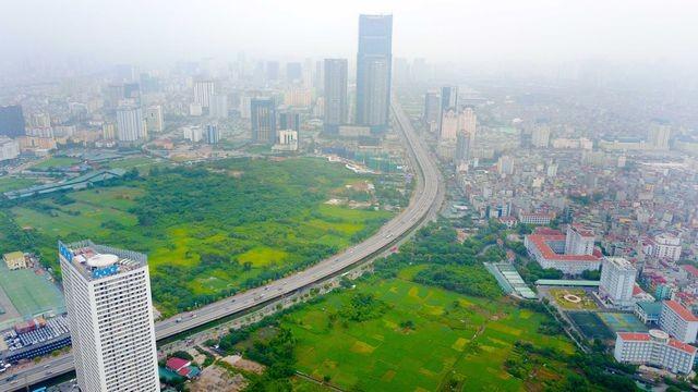 Hiện trên địa bàn TP Hà Nội đang quy hoạch khá nhiều hồ điều hòa/ Ảnh minh họa, nguồn: dantri.com
