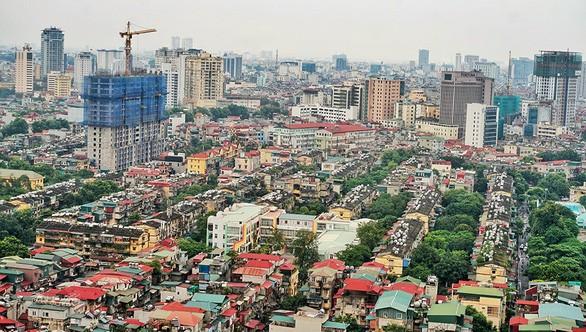 Hạn chế các công trình thấp tầng tại Hà Nội.