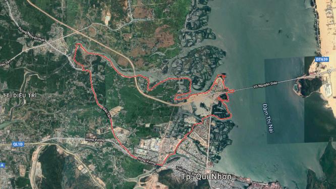Khu đô thị mới khu vực Chợ Góc sẽ có vị trí tại phường Nhơn Bình, TP Quy Nhơn.