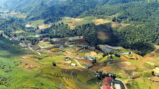 Dự án Khu đô thị Mường Hoa, Sa Pa có tổng mức đầu tư hơn 610 tỷ đồng, được triển khai trên diện tích 99.300 m2 đất/ Ảnh: Baodauthau.vn